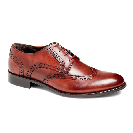 Damon Wingtip Derby // Cognac (US: 7)