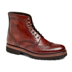 Deisel Wingtip Boot // Brown (US: 7)