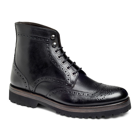 Deisel Wingtip Boot // Black (US: 7)