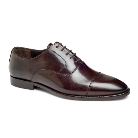 Depp Captoe Oxford // Mahogany (US: 7)