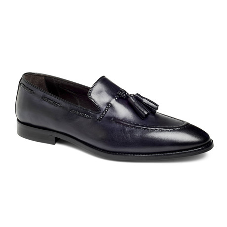 Johnson Tassel Loafer // Graphite (US: 7)