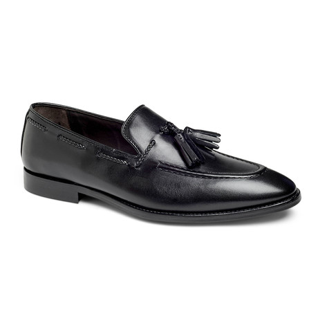 Johnson Tassel Loafer // Black (US: 7)