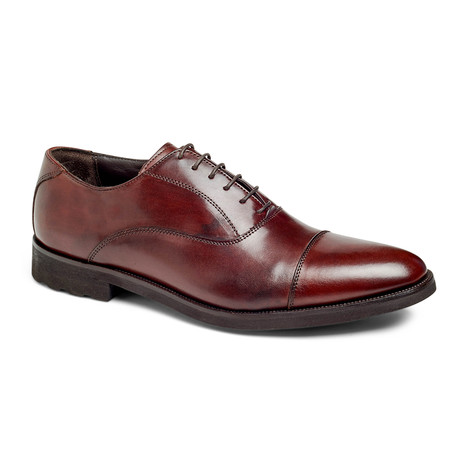 Musk Captoe Oxford // Brown (US: 7)