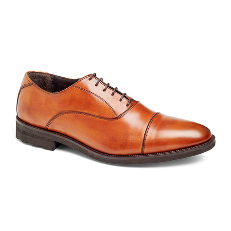 Musk Captoe Oxford // Walnut (US: 7)