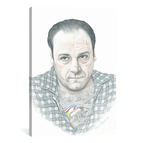 "Tony Soprano (18""W x 26""H x 0.75""D)"