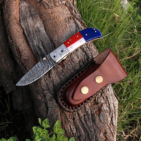 Handmade Texas Folding Knife // 2736