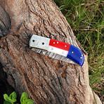 Handmade Texas Folding Knife // 2736