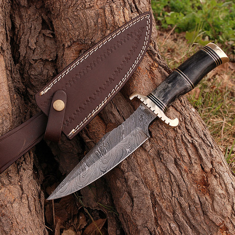 Damascus Hunting Knife // BK0250