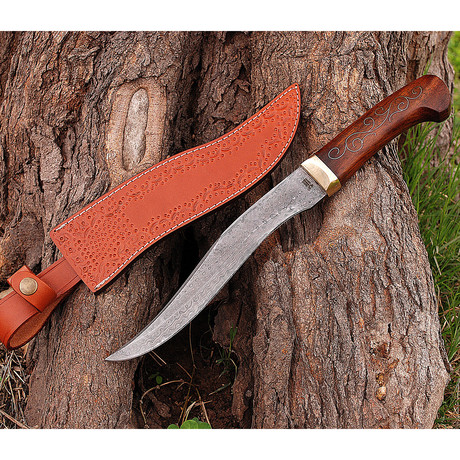 Damascus Hunting Knife // HK0257