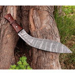 Damascus Gurkha Kukri Knife