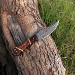 Damascus Skinner Knife // HK0286
