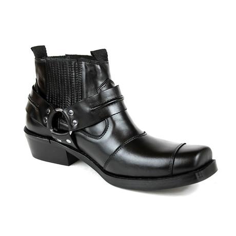 Oswaldo Performance Boots // Black Armadillo (US: 7)