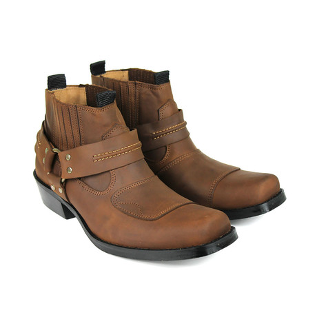 Brent Performance Boots // Chocolate Armadillo (US: 7)