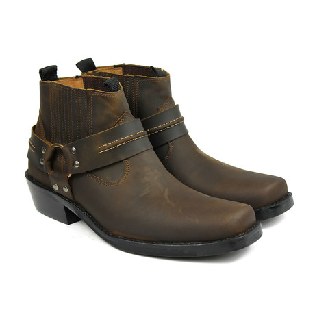 Frank Performance Boots // Crazy Brown (US: 7)