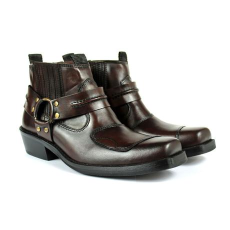 Colt Performance Boots // Dark brown Armadillo (US: 7)