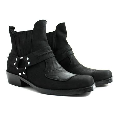 Davin Performance Boots // Nubuck Black Armadillo (US: 7)