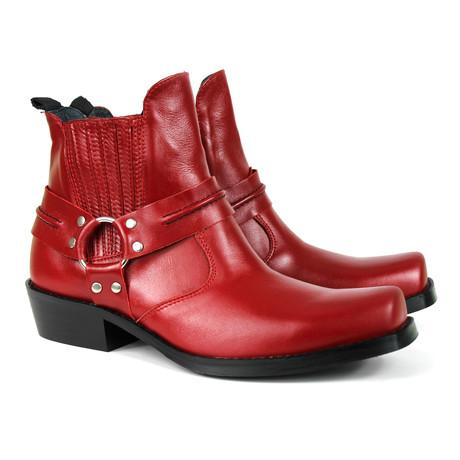 Leonidas Performance Boots // Red (US: 12)