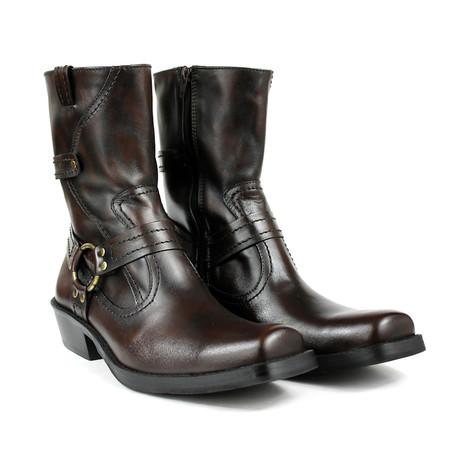 Sawyer Motorcycle Boots // Dark Brown (US: 7)