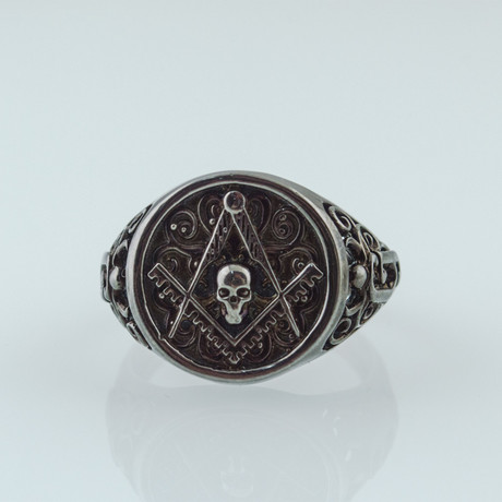 Black Series // Masonic Ring + Skull (5)