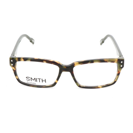 Men's Intersection 3 TTA Optical Frames // Transparent Gray + Metalized Blue