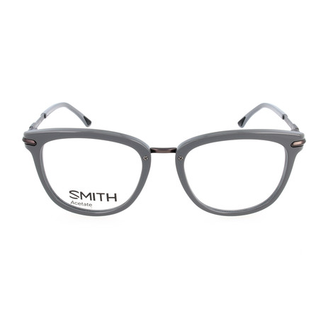 Unisex Quinlan GQ6 Optical Frames // Wood Gray + Matte Dark Gray