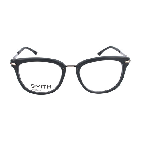 Unisex Quinlan HD1 Optical Frames // Matte Black + Semi-Matte Dark Ruthenium