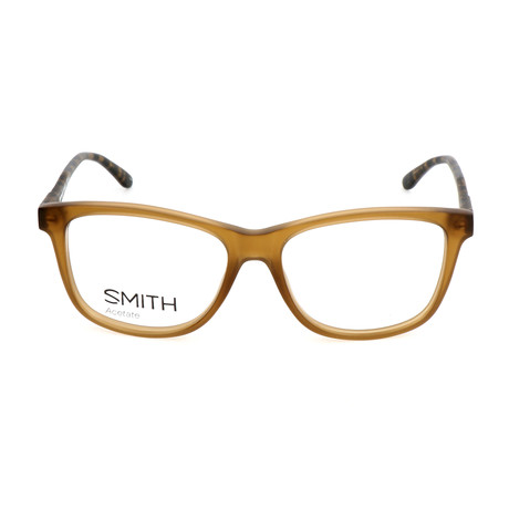 Men's Darby 4RG Optical Frames // Brown Vertical Striped