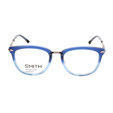 Unisex Quinlan IOV Optical Frames // Solid Blue Ruthenium