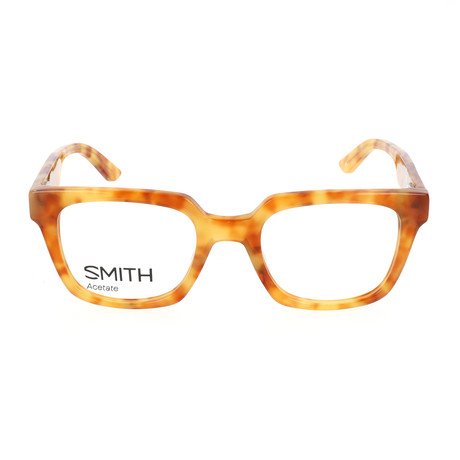 Men's Cashout 2J3 Optical Frames // Havana Spotted Orange + Yellow