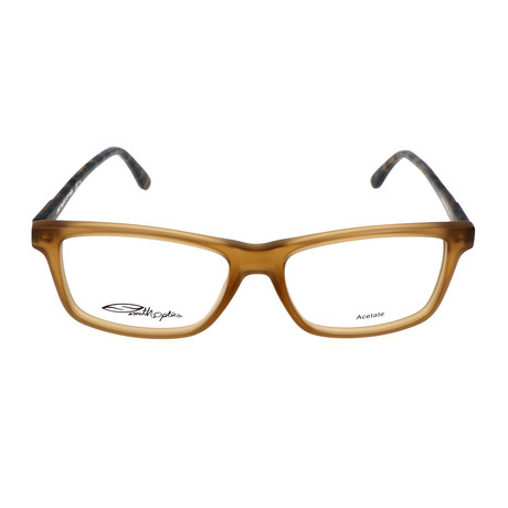 Men's Manning 4RG Optical Frames // Brown Vertical Striped