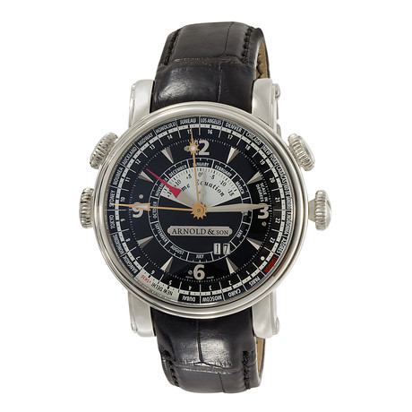 Arnold & Son Hornet Worldtimer Automatic // 1H6AS.B02A.C20B // Pre-Owned