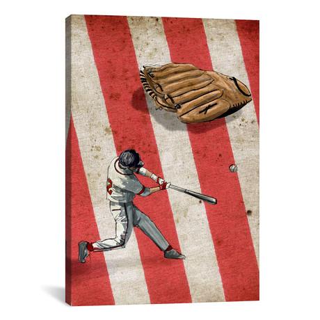 "American Sports: Baseball II // GraphINC (18""W x 26""H x 0.75""D)"
