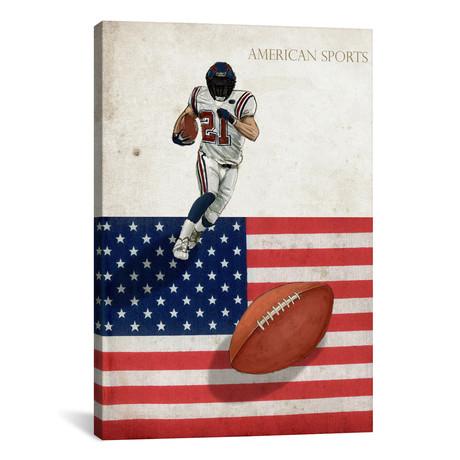 "American Sports: Football I // GraphINC (18""W x 26""H x 0.75""D)"