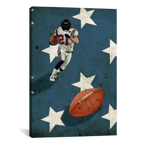 "American Sports: Football II // GraphINC (18""W x 26""H x 0.75""D)"