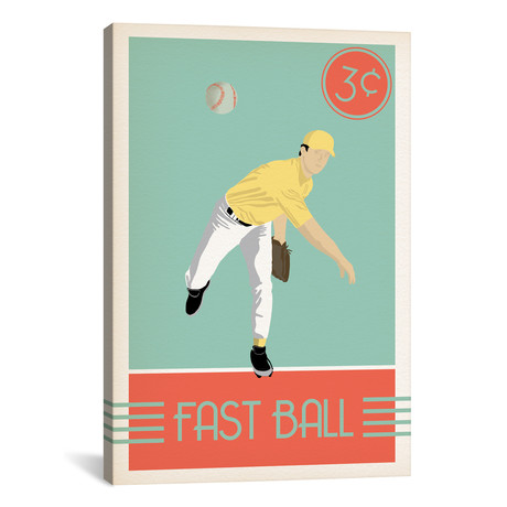 """Fast Ball // 5by5collective (18""""W x 26""""H x 0.75""""D)"""