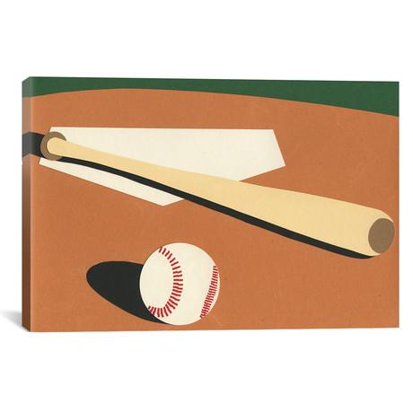 """LA Baseball Field // Rosi Feist (26""""W x 18""""H x 0.75""""D)"""