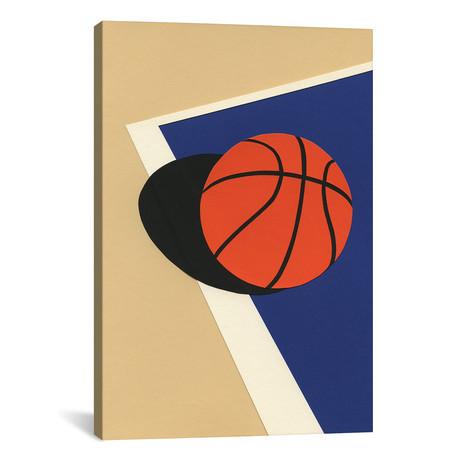 "Oakland Basketball Team I // Rosi Feist (18""W x 26""H x 0.75""D)"