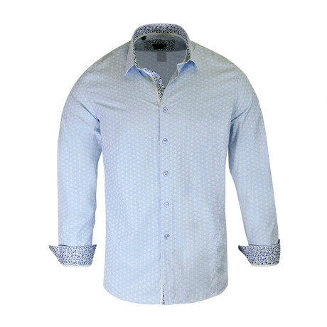 Buddy True Modern Fit Dress Shirt // Blue (S)
