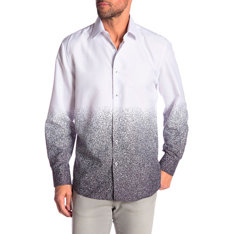 Nigel True Modern Fit Dress Shirt // Multi (S)