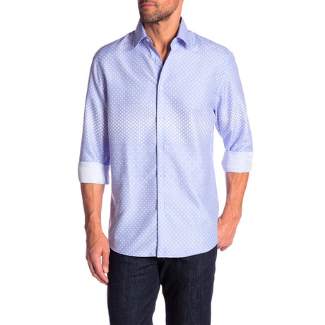 Robbie True Modern Fit Dress Shirt // Light Blue (S)