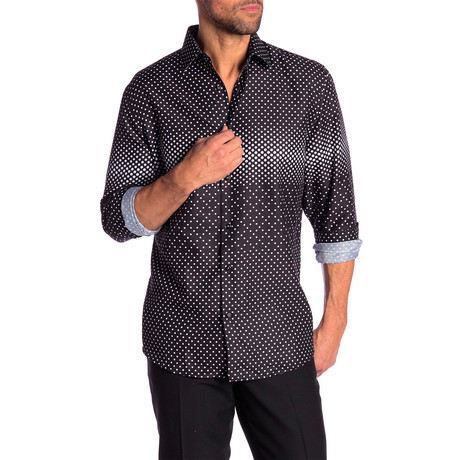 Elwood True Modern Fit Dress Shirt // Black (S)