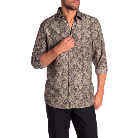 Hilton True Modern-Fit Dress Shirt // Multicolor (S)