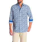 Ellis True Modern-Fit Dress Shirt // Multicolor (S)
