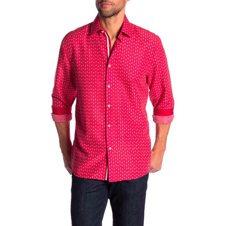 Harlan True Modern Fit Dress Shirt // Fuschia (S)