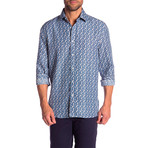 Booker True Modern-Fit Dress Shirt // Multicolor (XL)