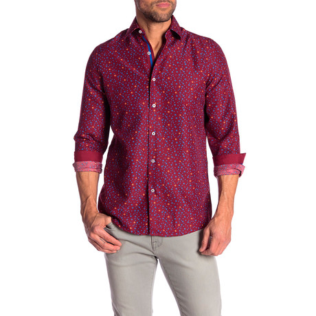 Sidney True Modern Fit Dress Shirt // Multi (S)