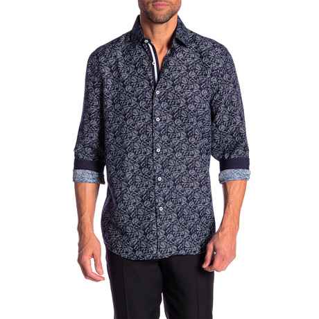 Kendrick True Modern-Fit Dress Shirt // Multicolor (S)
