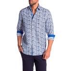 Michael True Modern-Fit Dress Shirt // Multicolor (L)