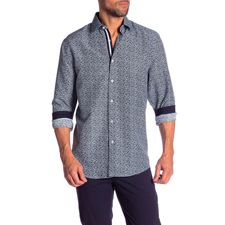 Rich True Modern Fit Dress Shirt // Multi (S)