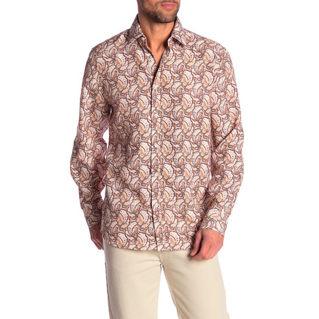 Philip True Modern-Fit Dress Shirt // Multicolor (S)